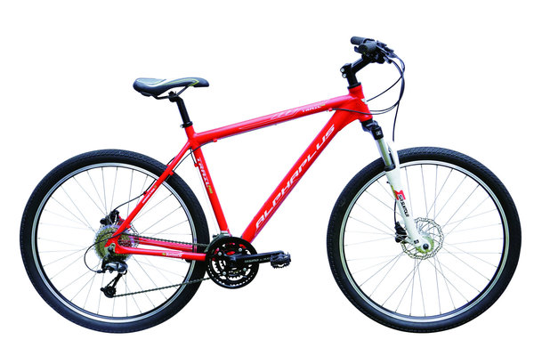 Alpha Plus Mountainbike Trail Pro Herren Rot (RH: 51 cm)