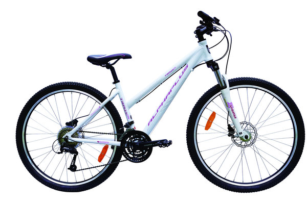 Alpha Plus Mountainbike Trail Pro Damen Weiß (RH: 41 cm)