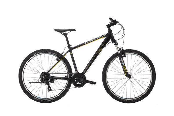Alpha Plus Mountainbike MX Herren Schwarz (RH: 46 cm)