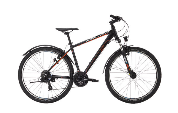 Alpha Plus Mountainbike MX All Road Herren Schwarz (RH: 46 cm)