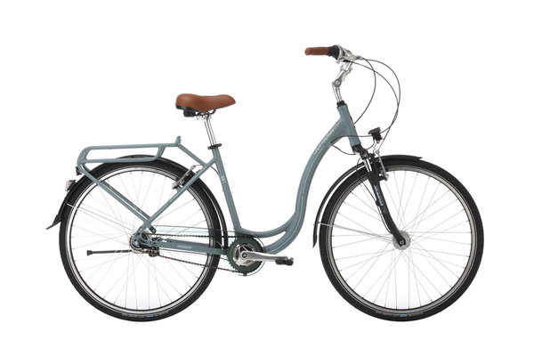 Alpha Plus Citybike CITY 7 Grau (RH: 53 cm)