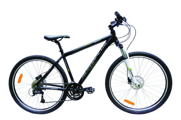 Alpha Plus Mountainbike Trail Pro Herren Schwarz (RH: 51cm)