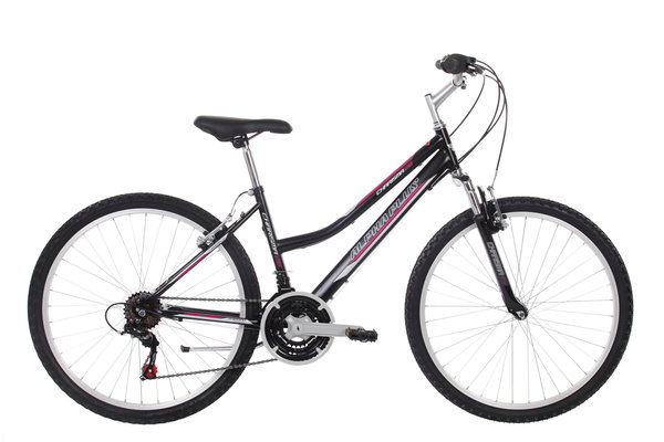 "Alpha Plus Mountainbike Charisma 26""  Schwarz (RH: 46 cm)"