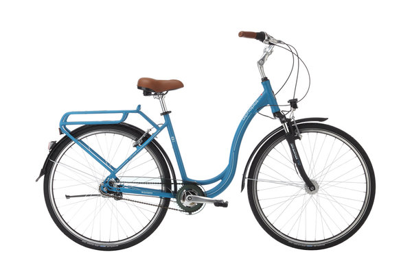 Alpha Plus Citybike CITY 7 Blau (RH: 48 cm)