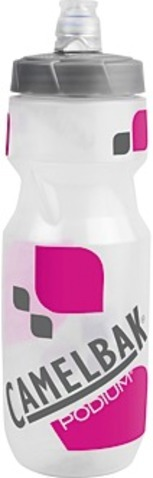Trinkflasche Podium transparent-pink 710 ml