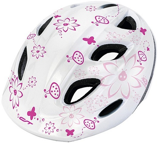 "Helm ""CT-159 - Flowers"" Gr. 52- 57 cm"