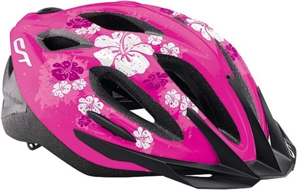 "Helm ""CT-520 - Flowers"" Uni 52-57 cm"